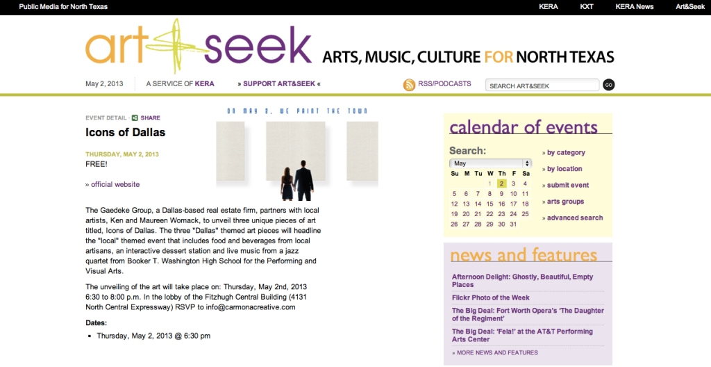 art.seek.icons.of.dallas.press